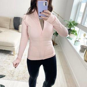 Fabletics Rosalia Pink Performance Jacket Size XS